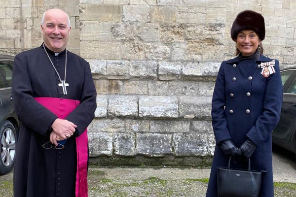 Lord-Lieutenant meets Archbishop
