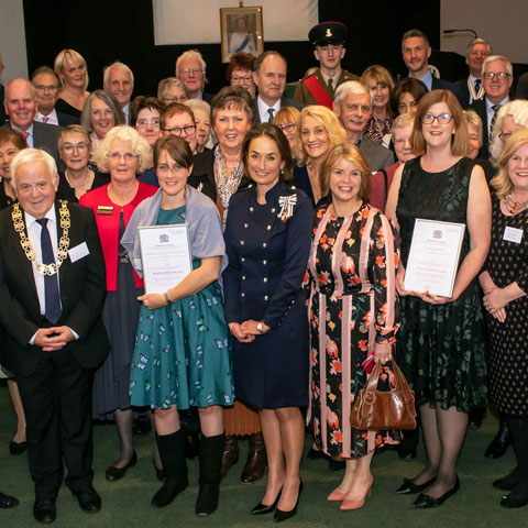 Queen's Award for Voluntary Service 2019